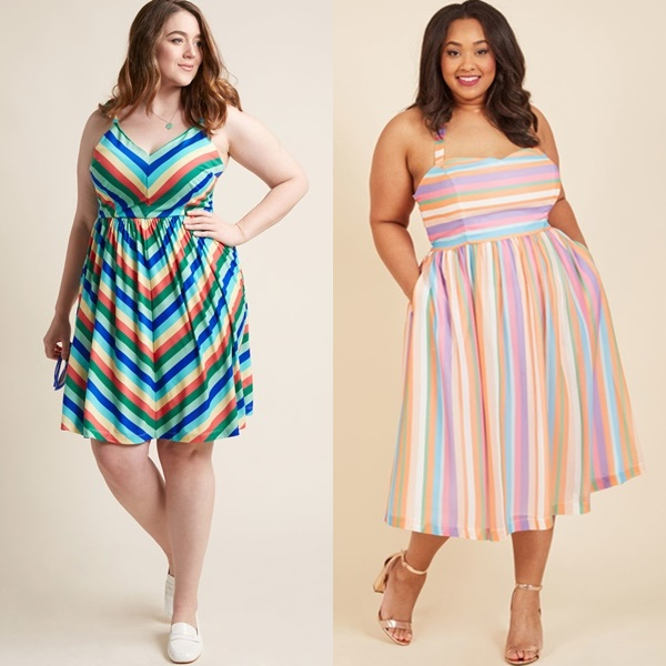 My Sunday Zest A-Line Dress in Paradise