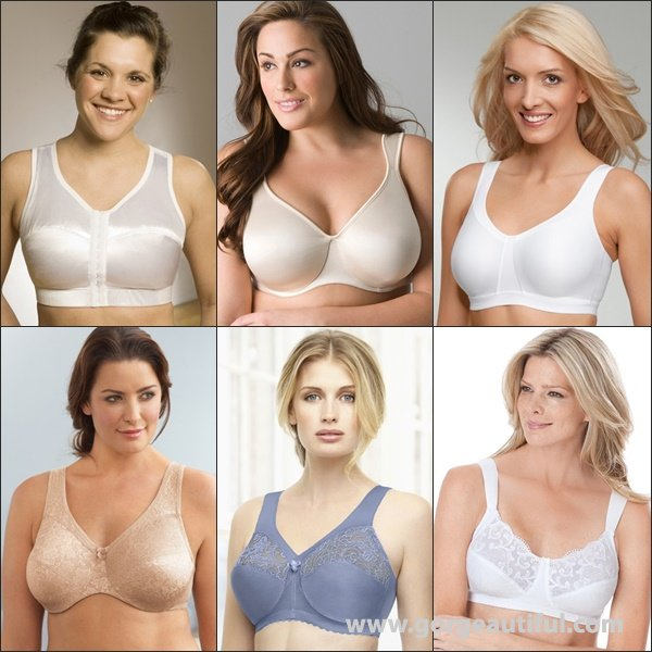 Comfort Strap Bras for Large Breast