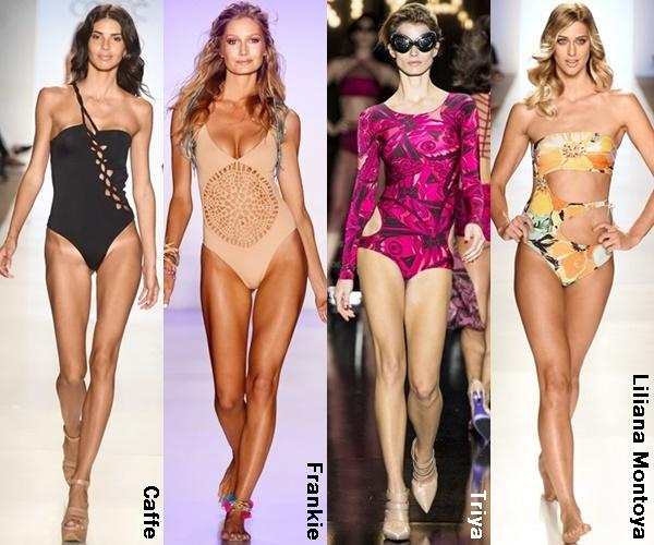 Cut Out Swimwear 2015 Trends