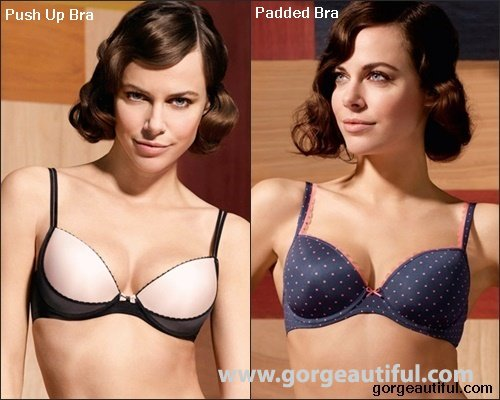 Difference Between Padded and Push Up Bra