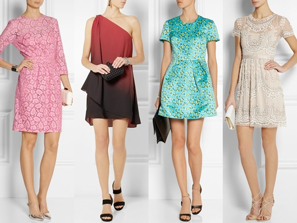 Net A Porter : Moschino Cheap and Chic Cotton-blend Lace Dress