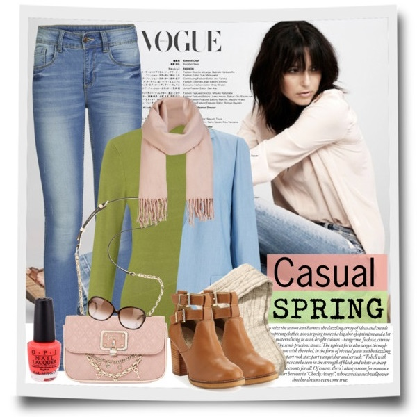 Easy and Casual Spring Look