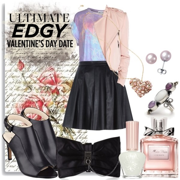 Edgy Valentine Day Outfit Ideas