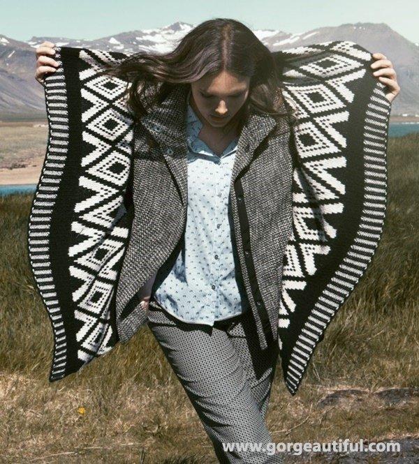 Elena Miro Plus Size Fashion Fall Winter 2015 Ad Campaign 09