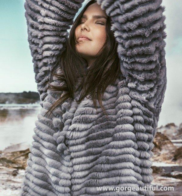 Elena Miro Plus Size Fashion Fall Winter 2015 Ad Campaign 11