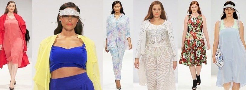 Evans Design Collective Plus Size Spring Summer 2015 Runway