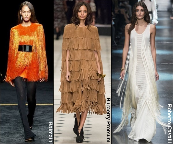 Fall Winter 2015 Fashion Trend Fringes