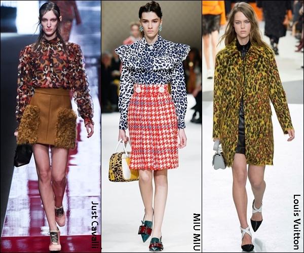Fall Winter 2015 Fashion Trend Leopard Prints