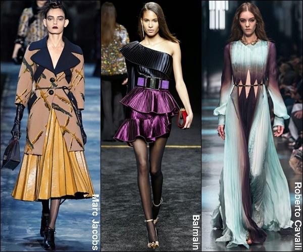 Fall Winter 2015 Fashion Trend Pleats