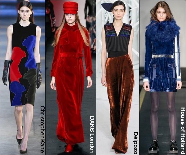 Fall Winter 2015 Fashion Trend Velvet