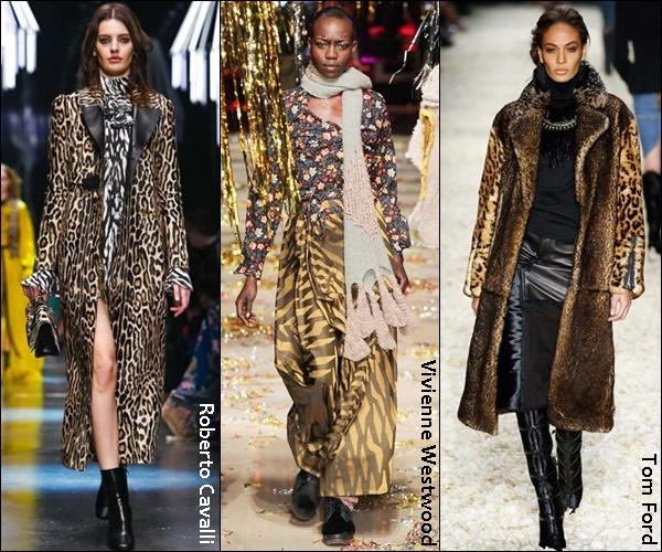 Fall Winter 2016 Fashion Trend Leopard Prints