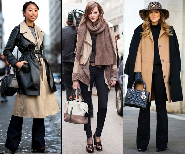 Fashionable Winter Layering Street Style