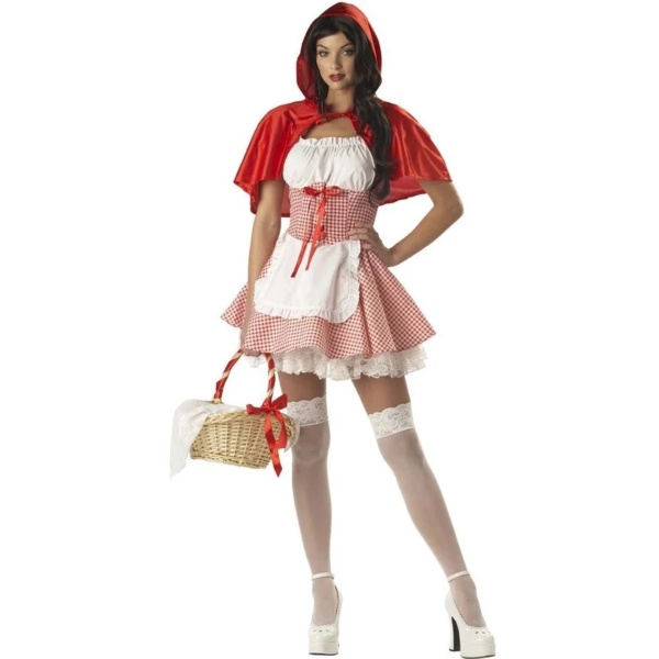 Halloween Little Red Riding Hood Costumes (1)