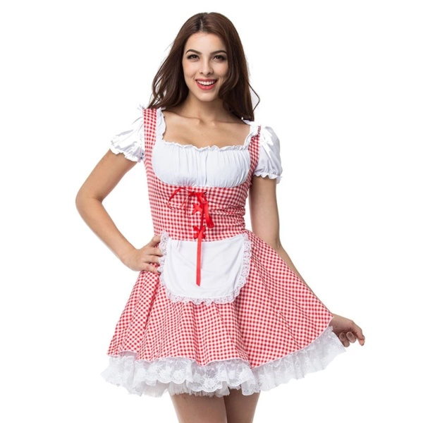 Halloween Little Red Riding Hood Costumes (3)