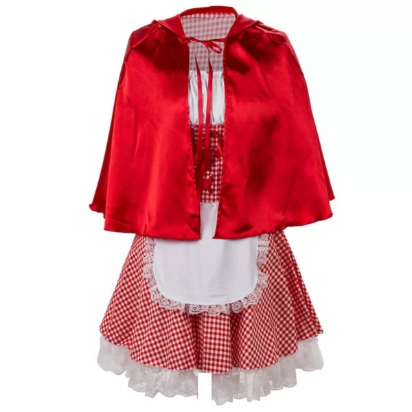Halloween Little Red Riding Hood Costumes (4)