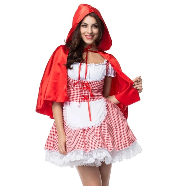 Halloween Little Red Riding Hood Costumes (5)