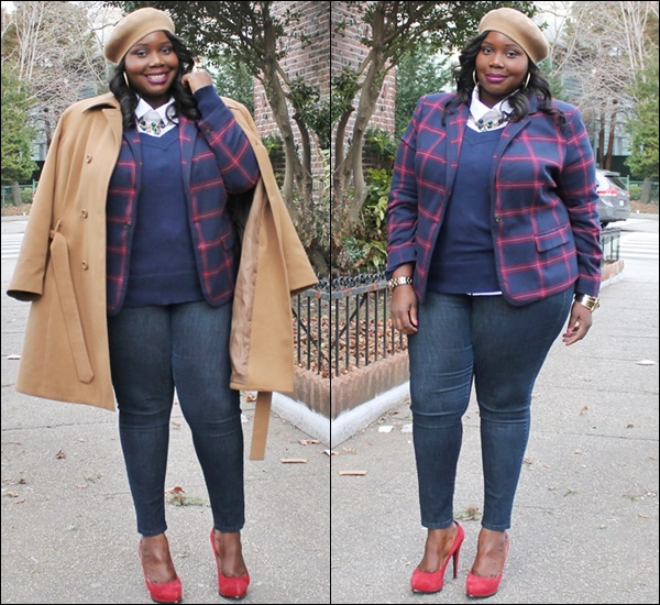 How to Layer Plus Size Clothing