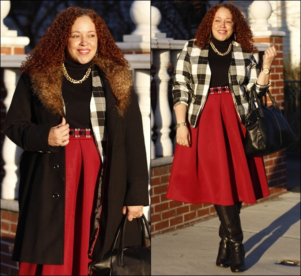 Layering Ideas with Full Skirt