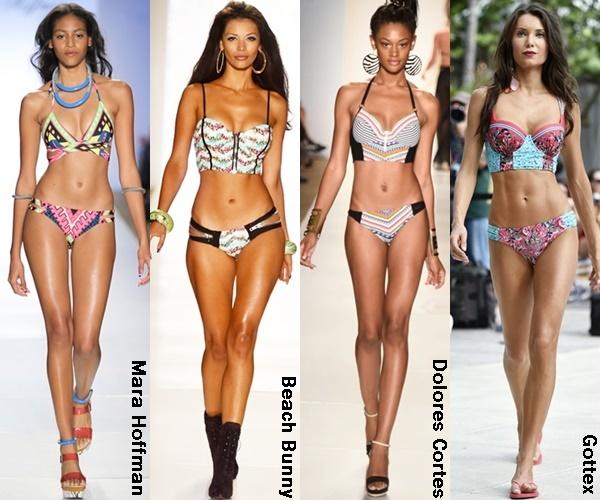 Long Line Bikini Top 2015 Trend