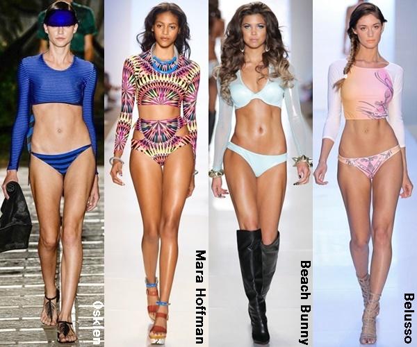 Long Sleeve Bikini Top 2015 Trend