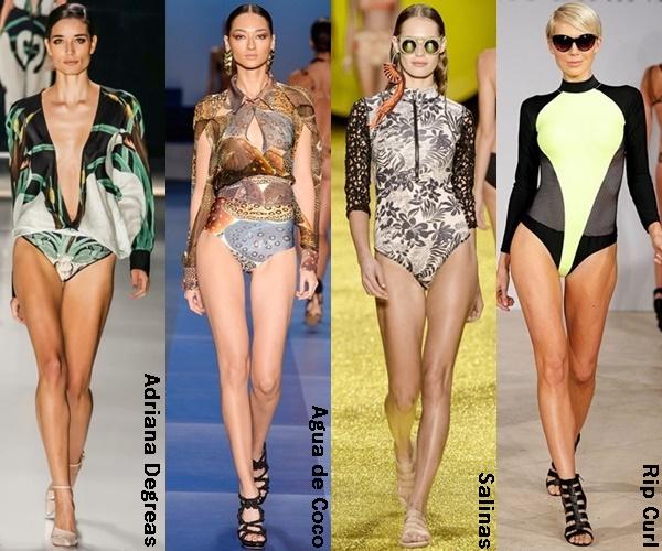 Long Sleeve Swimsuit 2015 Trend