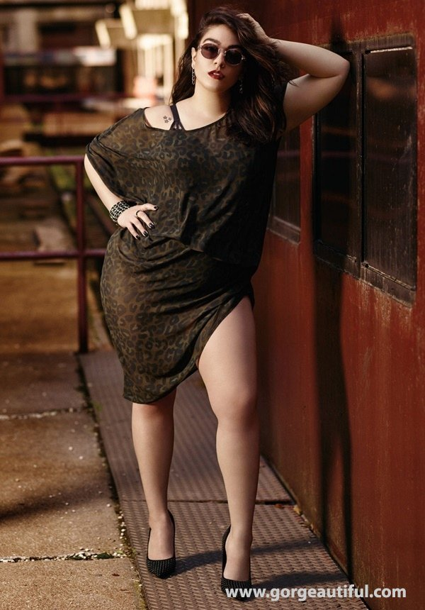 Nadia Aboulhosn x Addition Elle Fall Winter 2015 Plus Size Fashion 03