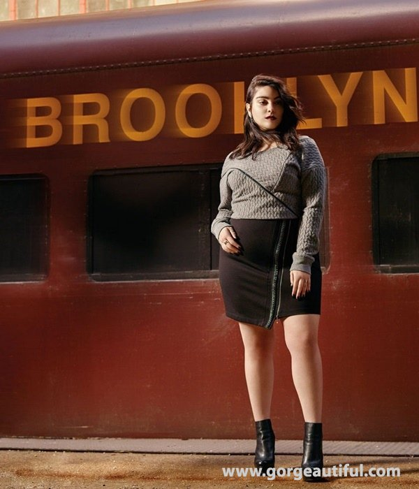 Nadia Aboulhosn x Addition Elle Fall Winter 2015 Plus Size Fashion 04