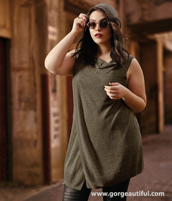 Nadia Aboulhosn x Addition Elle Fall Winter 2015 Plus Size Fashion 05