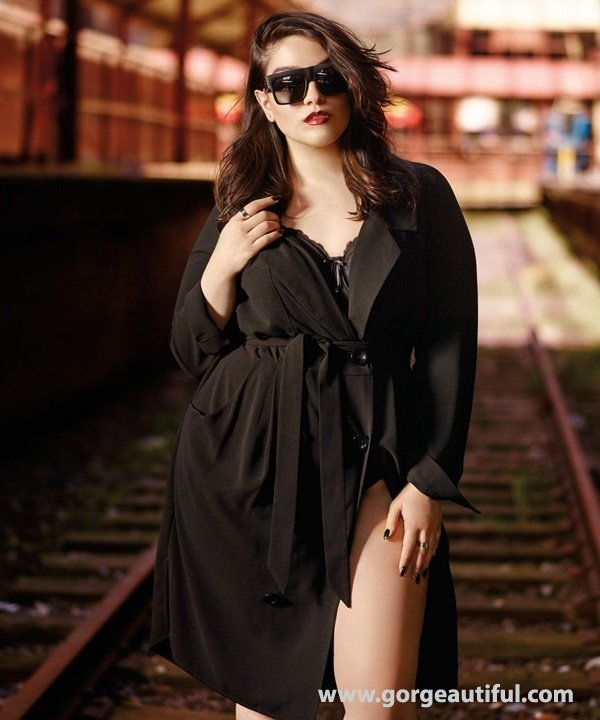 Nadia Aboulhosn x Addition Elle Fall Winter 2015 Plus Size Fashion 07