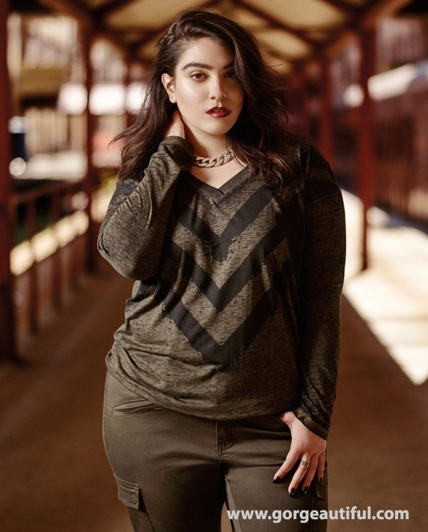 Nadia Aboulhosn x Addition Elle Fall Winter 2015 Plus Size Fashion 09