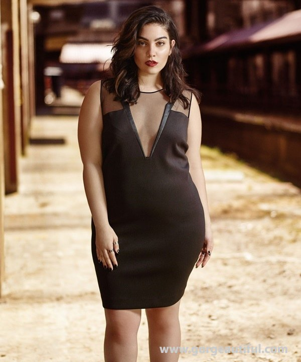 Nadia Aboulhosn x Addition Elle Fall Winter 2015 Plus Size Fashion 10