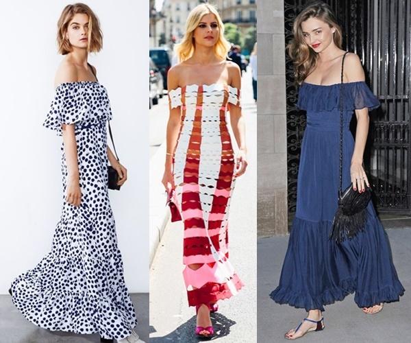 off-shoulder-summer-maxi-dress-outfit-ideas