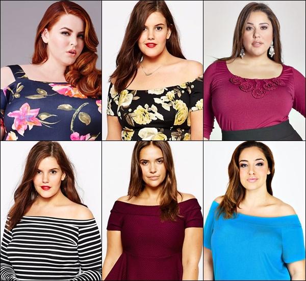 Plus Size Bardot Neckline Fashion Tips
