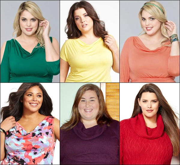 Plus Size Cowl Neck Tips and Ideas