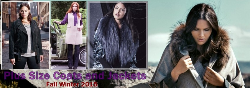 Plus Size Fall Winter 2015 Coats and Jackets from Various Stores