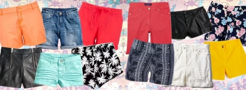 Plus Size Fashion Shorts Spring Summer 2015 from Various Stores