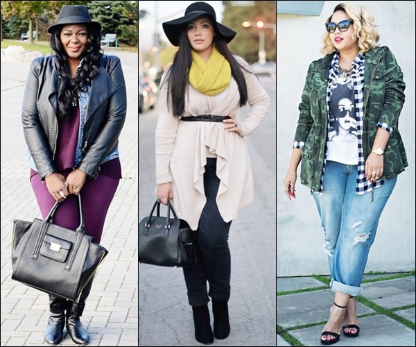 Plus Size Layering Fashion Look