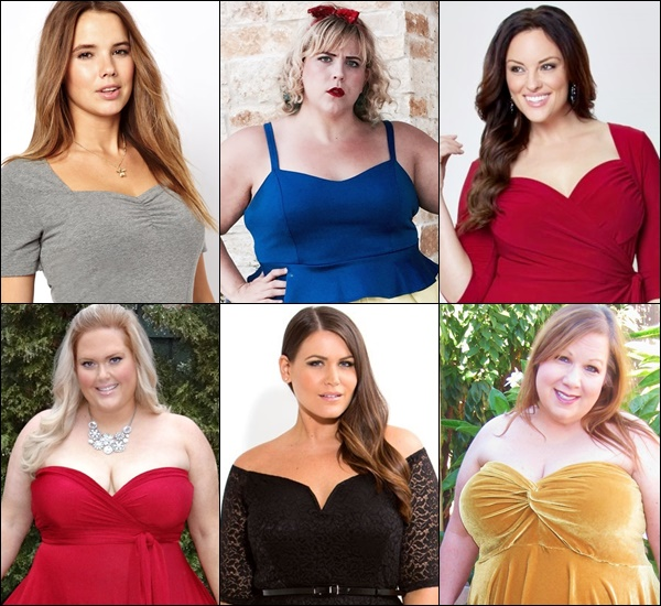 Plus Size Sweetheart Neckline Tips and Ideas