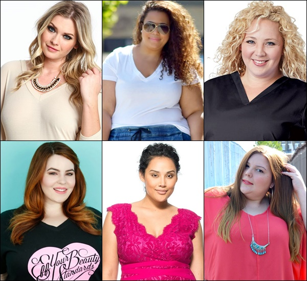 Plus Size V Neck Top and Dress Ideas
