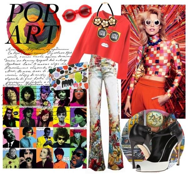 Pop Art Spring 2015 Fashion Look
