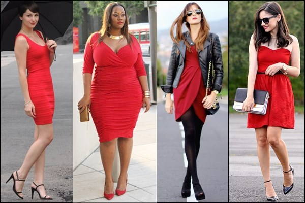 Red Dress Fashion for Valentine