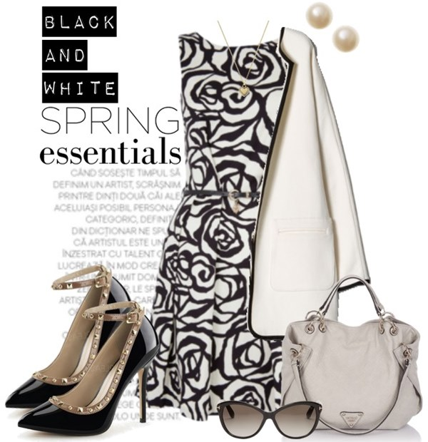 Spring Essentials Fashion Look