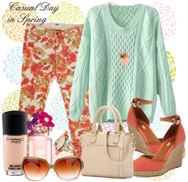 Spring Fashion with Jumper