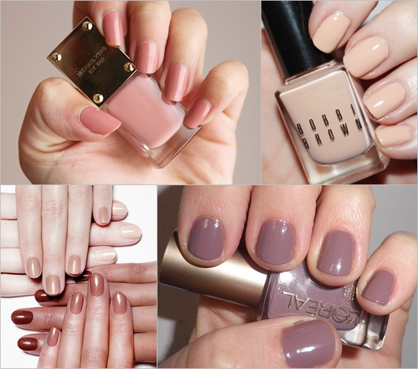 Spring Summer Nail Colors Trend - Nude Colors