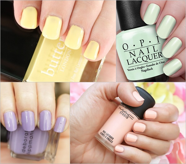 Spring Summer Nail Colors Trend - Pastel Candy