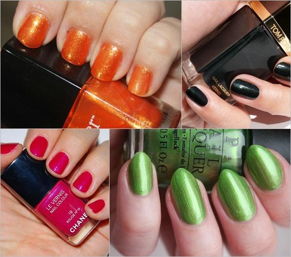 Spring Summer Nail Colors Trend - Vibrant Shades
