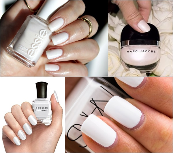 Spring Summer Nail Colors Trend - White Out