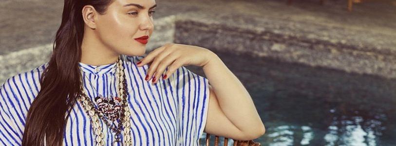 Stripe Prints for Plus Size Fashion Spring Summer Trend 2017