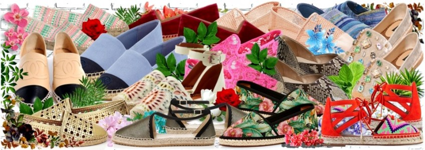Style Ideas: Espadrilles Spring Summer 2015 Shoes Trend (Part 1)