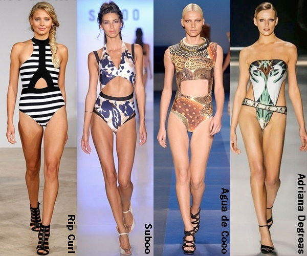 Swimwear with Cut Out 2015 Trends